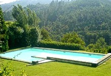 Portugal North Portugal Baiao Casa da Porta at Casa de Cocheca villa accommodation Swimming pool