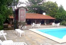 Portugal North Portugal Fafe Casa das Paredes villa accommodation swimming pool