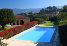 Portugal Minho Caminha Casa do Castanheiro villa accommodation Swimming pool