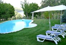 Portugal Douro Villa Cinfaes Quinta Povoa Swimming pool