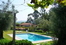 Portugal Oporto villa Minho Amares Casa da Eira Swimming pool