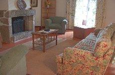 Portugal Minho Villa Braga Amares Solar Boucas Casa Montariol Living room