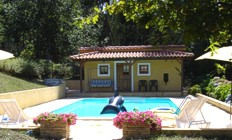 Portugal Minho Paredes de Coura Casa de Alem villa accommodation Swimming pool