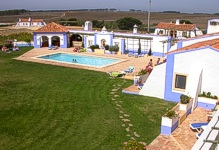 Portugal South Portugal Alentejo Zambujeira do Mar Herdade do Touril villa accommodation